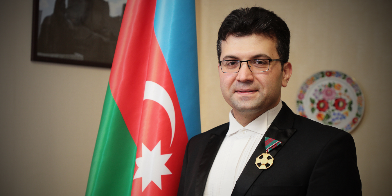 Ayyub Guliyev awarded the Golden Cross of Hungarian Order of Merit