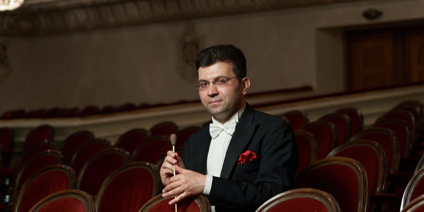 Ayyub Guliev conducts St.Petersburg's premiere of One Thousand and One Nights ballet