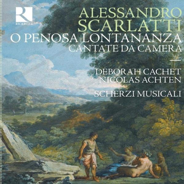 Deborah in  O Penosa Lontananza - A.Scarlatti - Scherzi Musicali