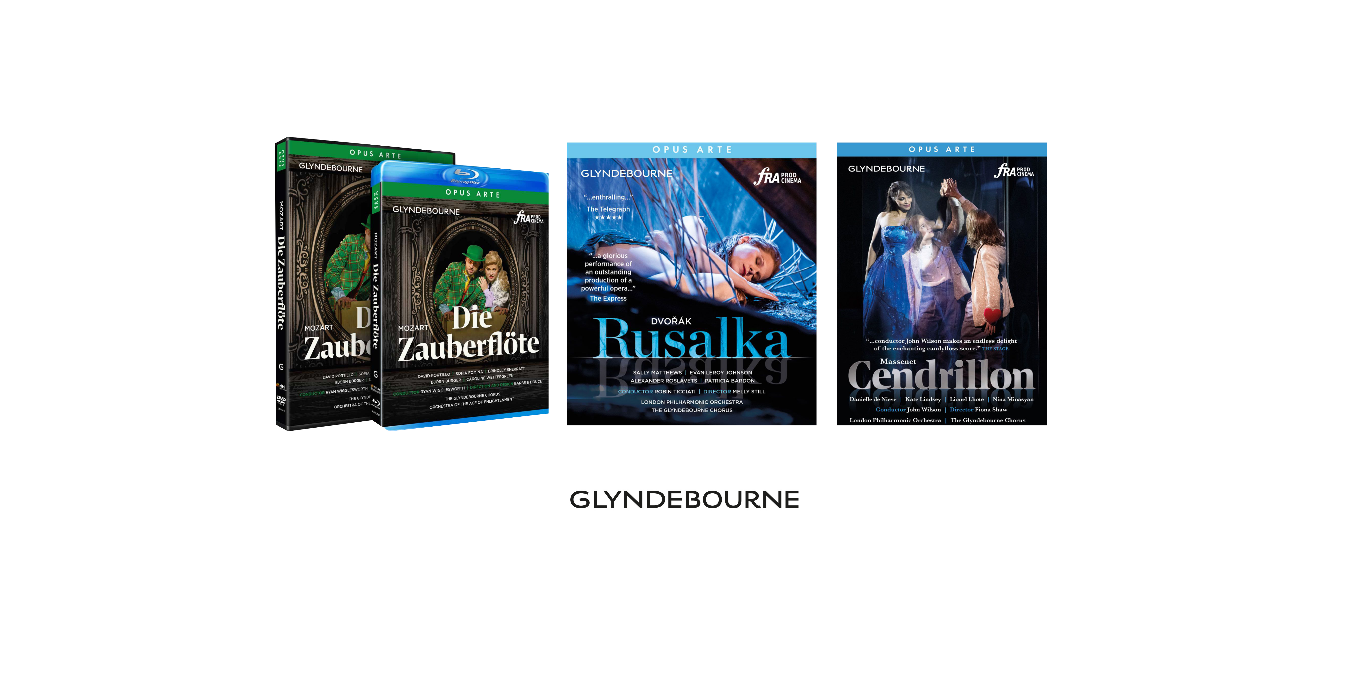 Glyndeboune Festival's DVD releases