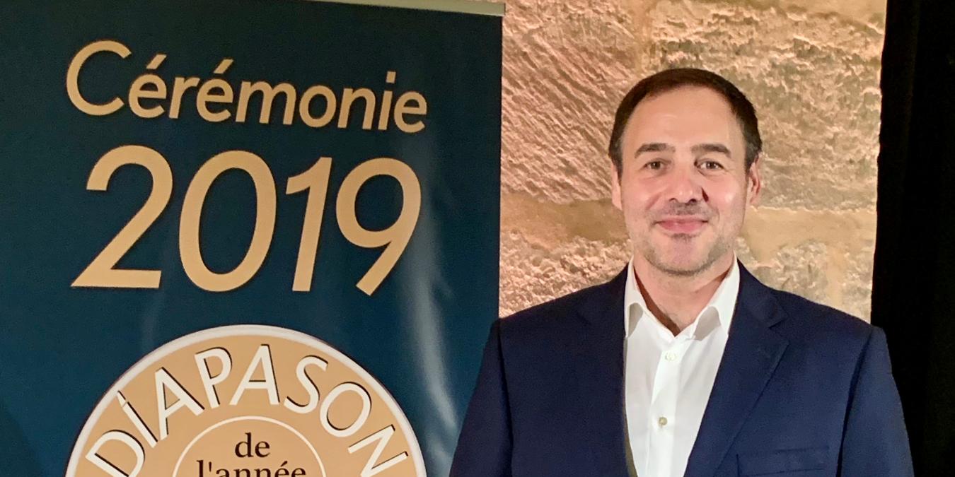 Diapason d'Or 2019 Award for Laurent Campellone